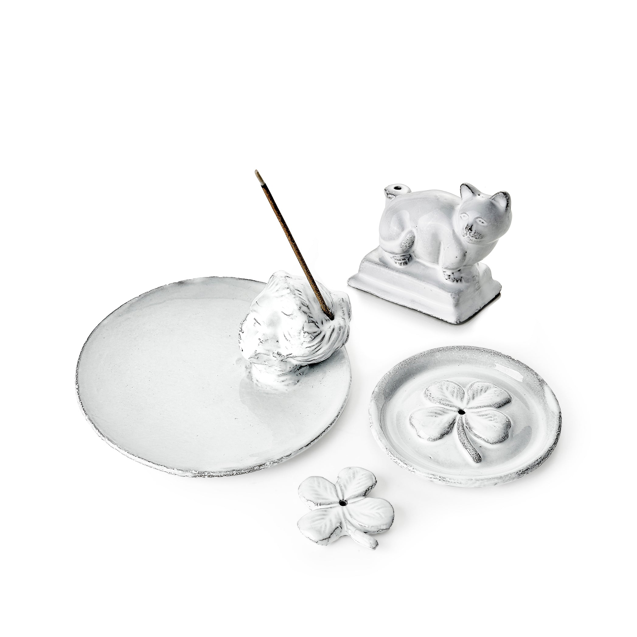 Minou Incense Burner by Astier de Villatte