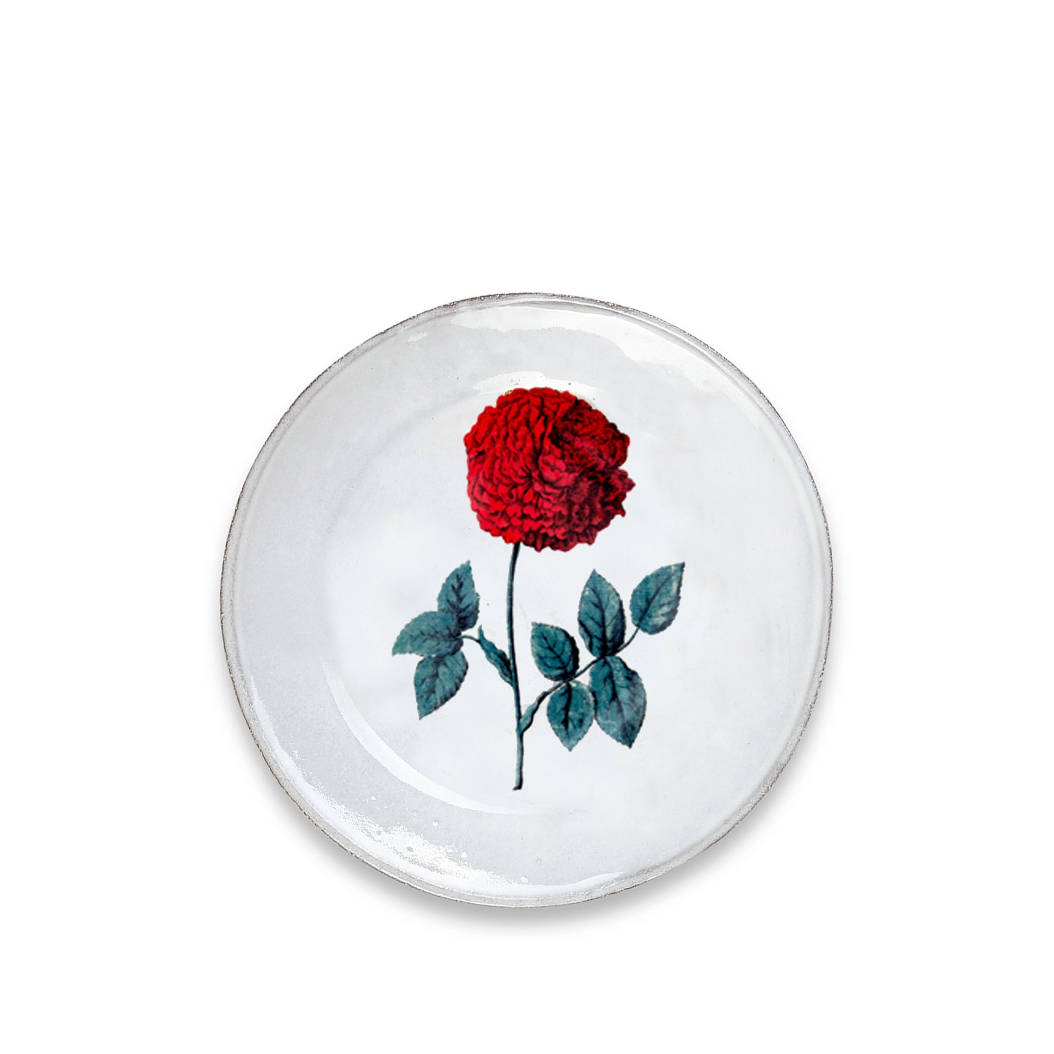 Dutch Hundred Leaved Rose Soup Plate by Astier de Villatte
