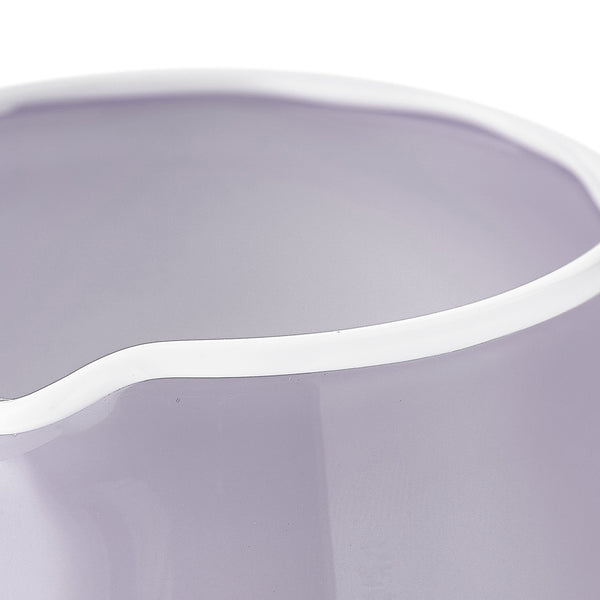 Handblown Glass Bumba Jug in Lilac