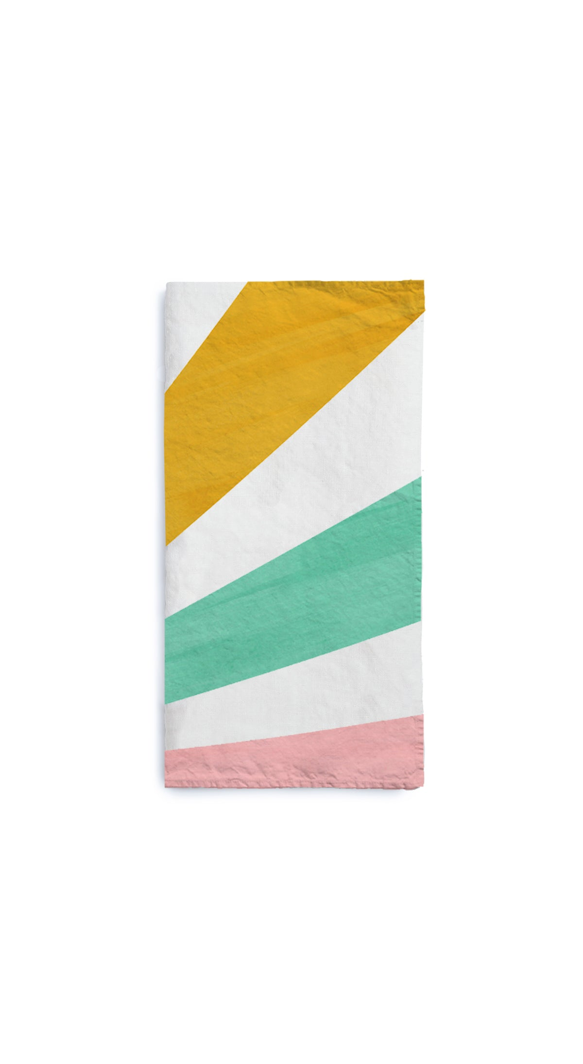 Le Cirque Linen Napkin in Multicolour