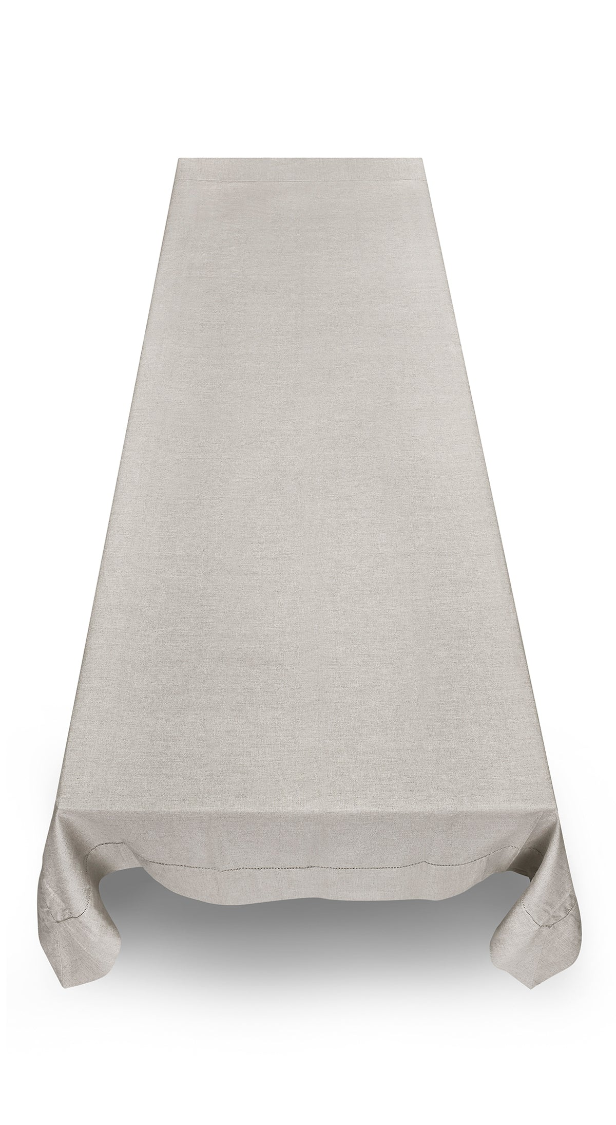 Natural Linen & Cotton Mix Tablecloth in Sand