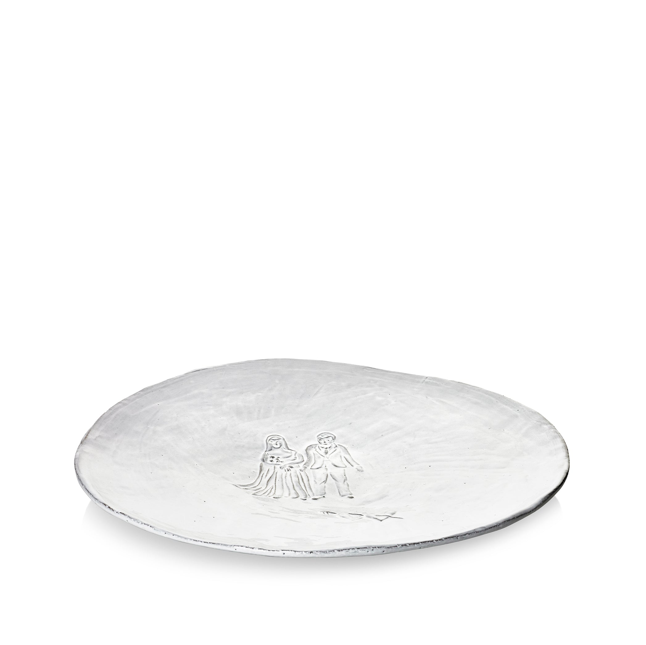 Mariés Wedding Platter by Astier de Villatte