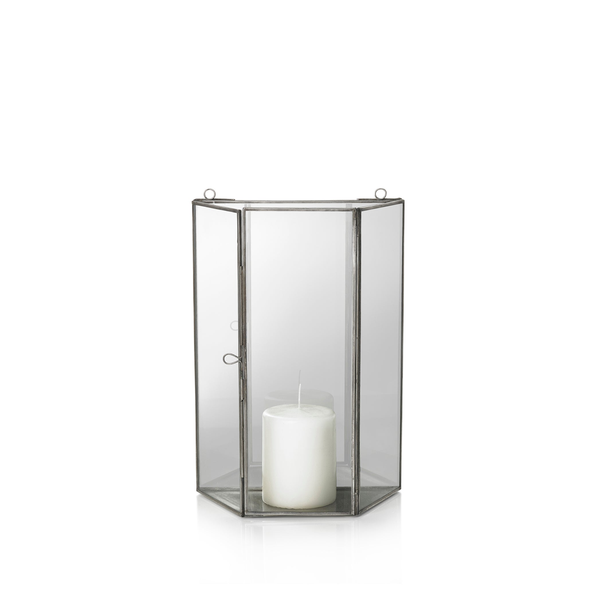 Mirrored Wall Lantern