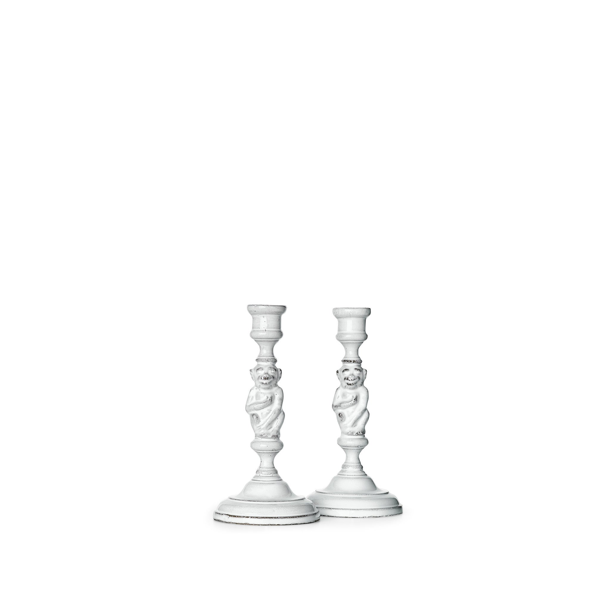 Pair of Monkey Candlesticks by Astier de Villatte