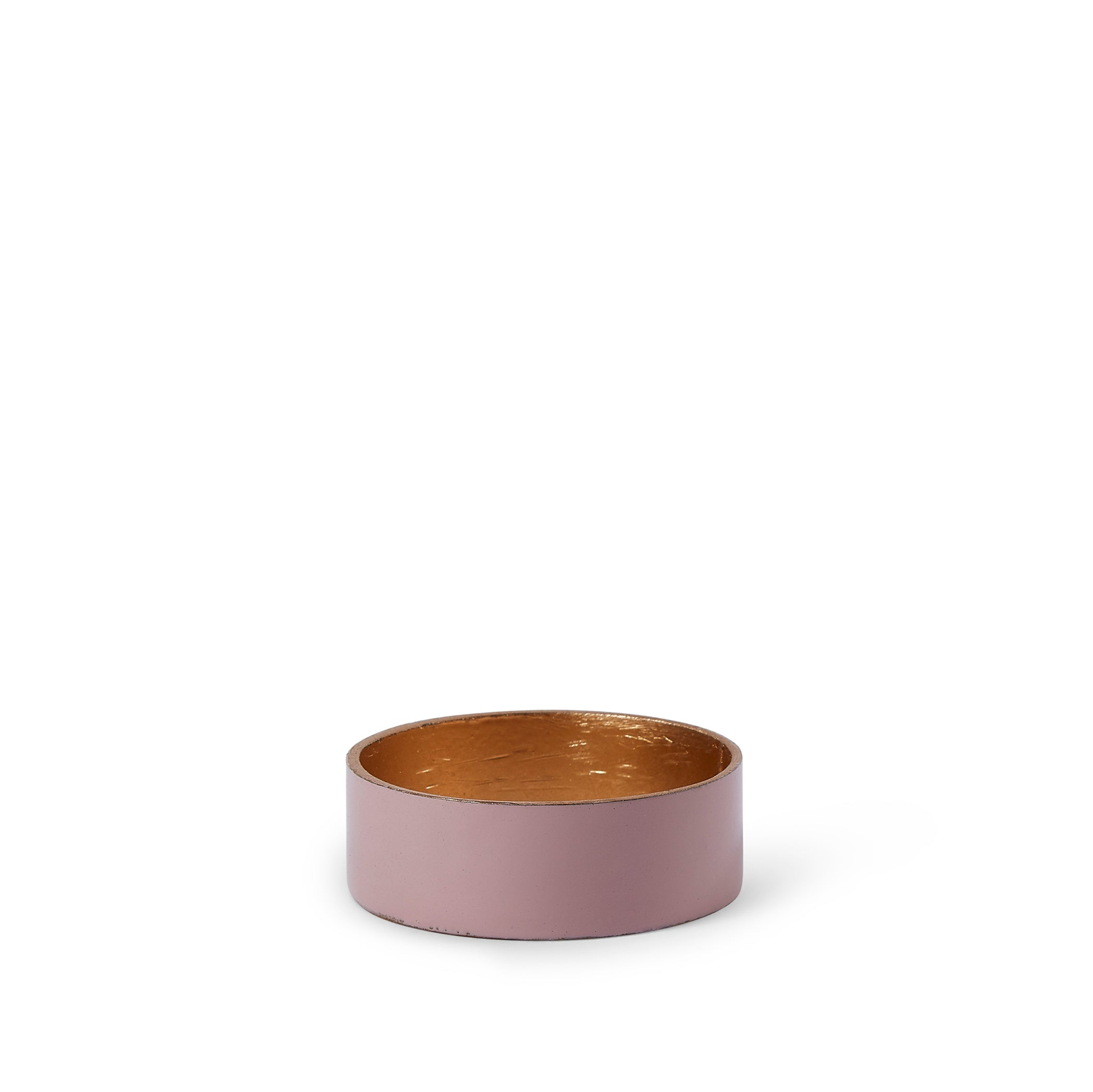 Enamelled Napkin Ring in Light Purple