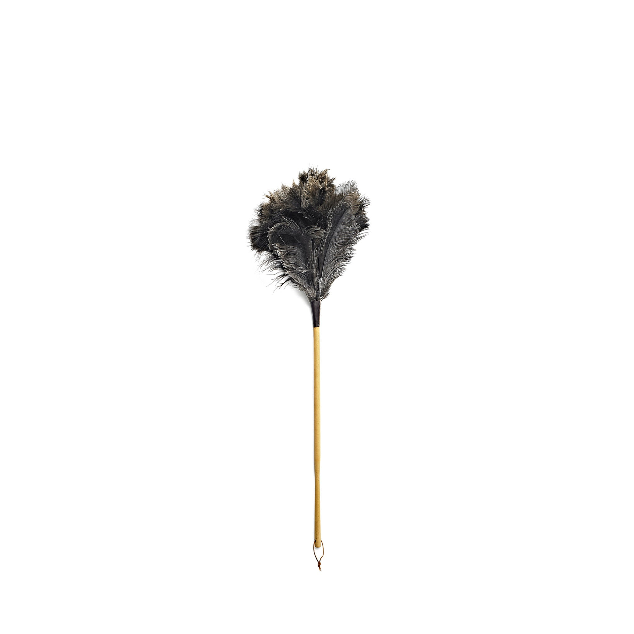 Ostrich Feather Duster with Beechwood Handle, 50cm