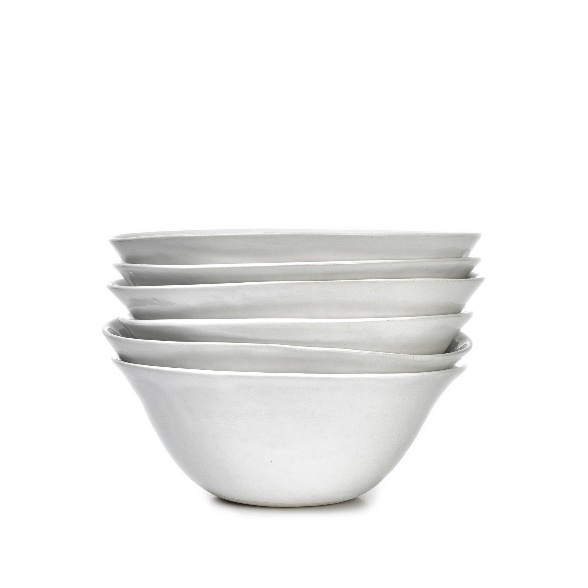 Wonki Ware Pasta Bowl in White, 22cm