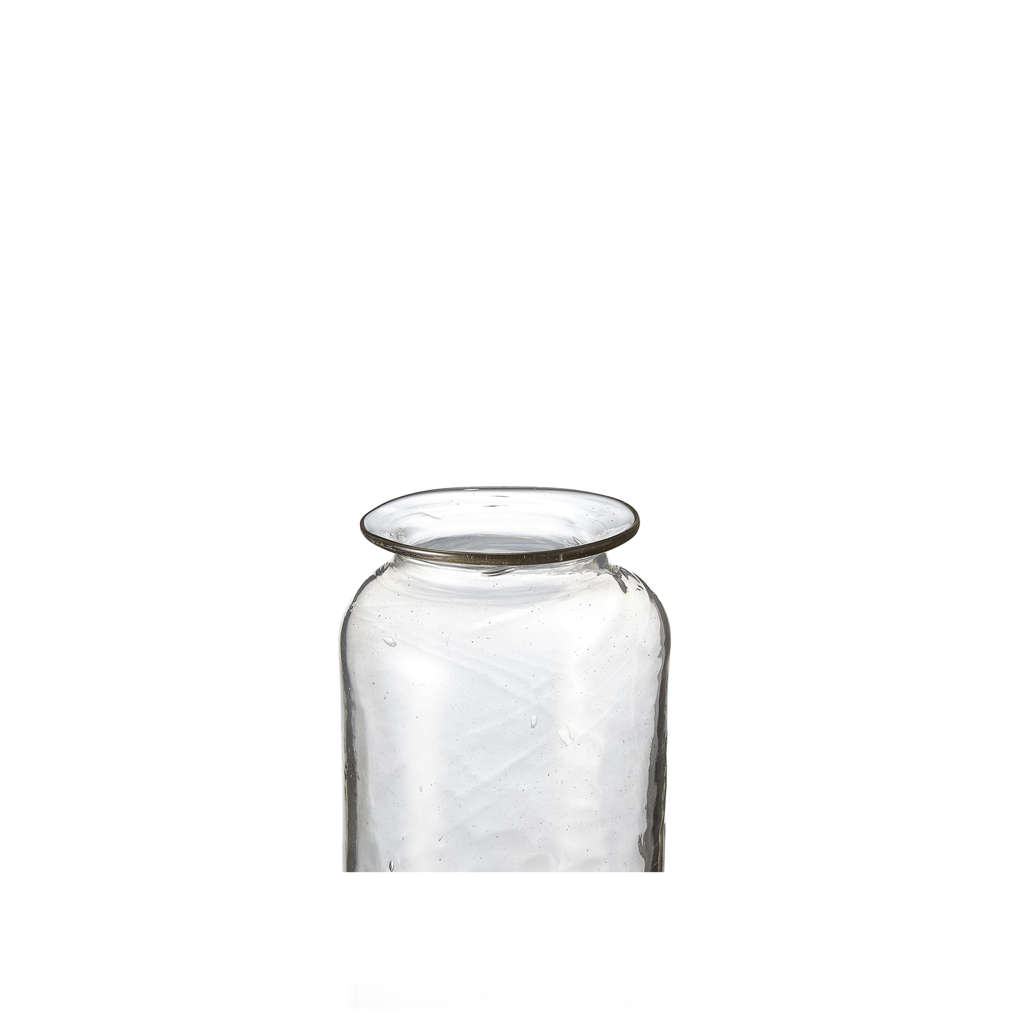 Handblown Small Pharmacy Vase, 12cm