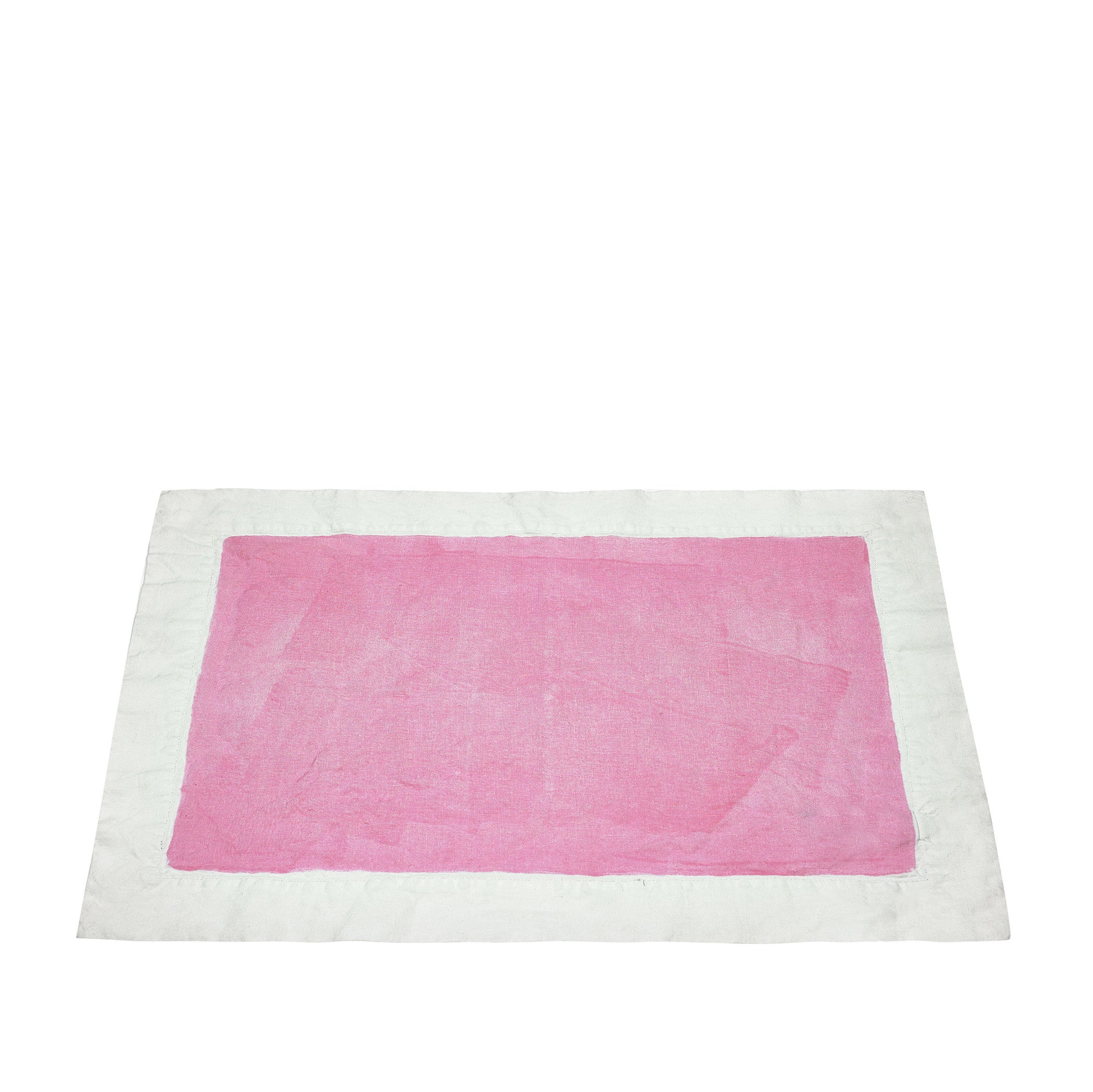 Full Field Linen Placemat in Rose Pink