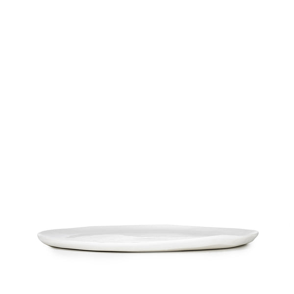 S&B Handmade 20cm Porcelain Side Plate with Plain Rim