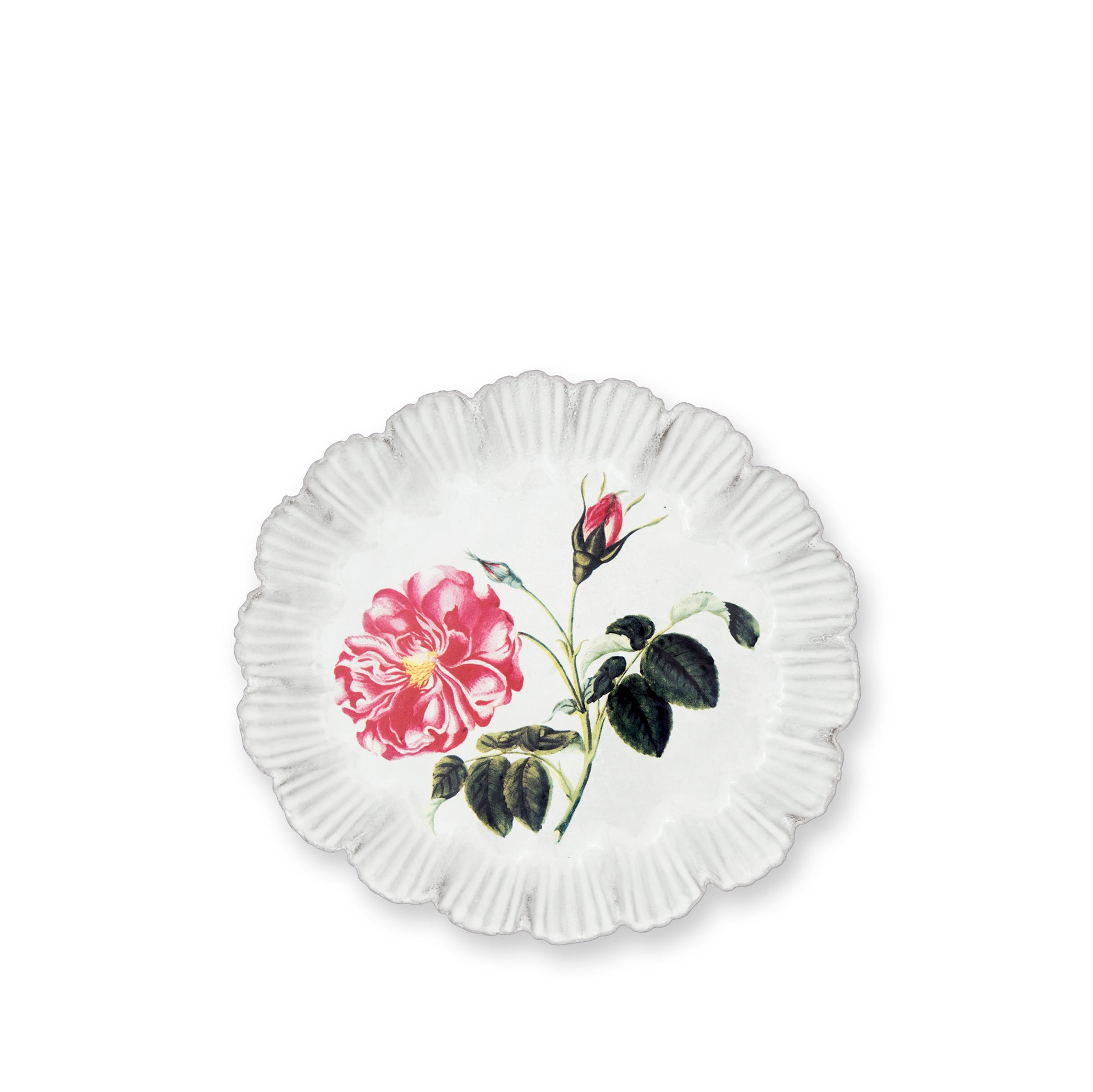 Rose Dinner Plate by Astier de Villatte