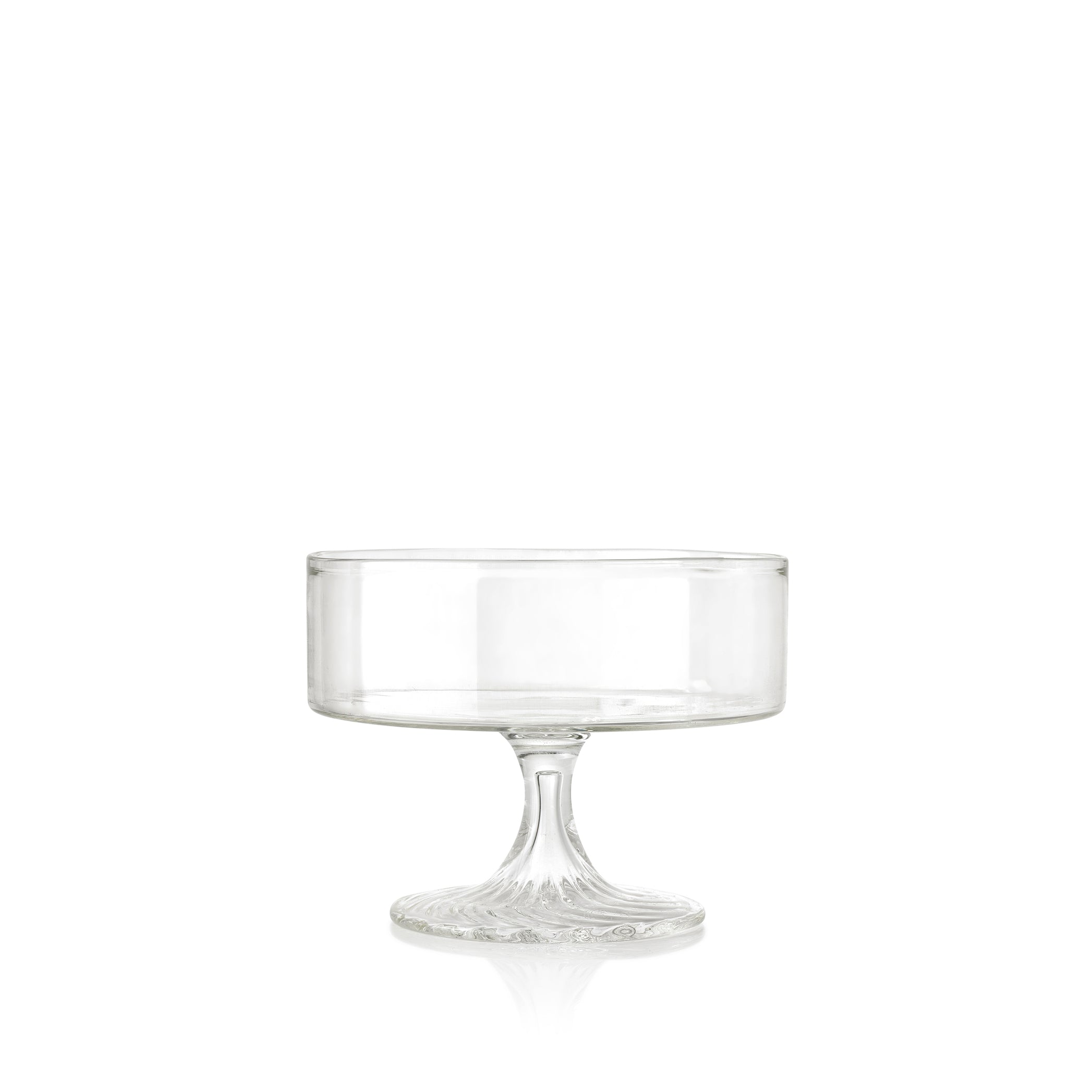 Handblown Glass Serving Stand, Small