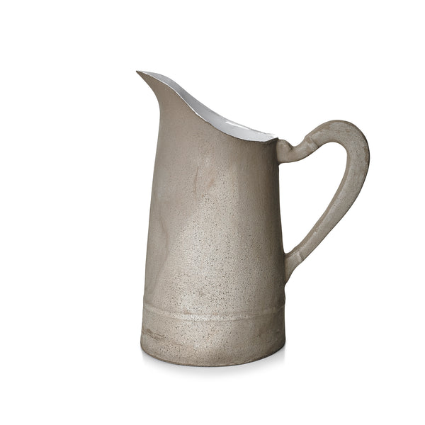 Simple Large Pitcher in Raw Clay by Astier de Villatte