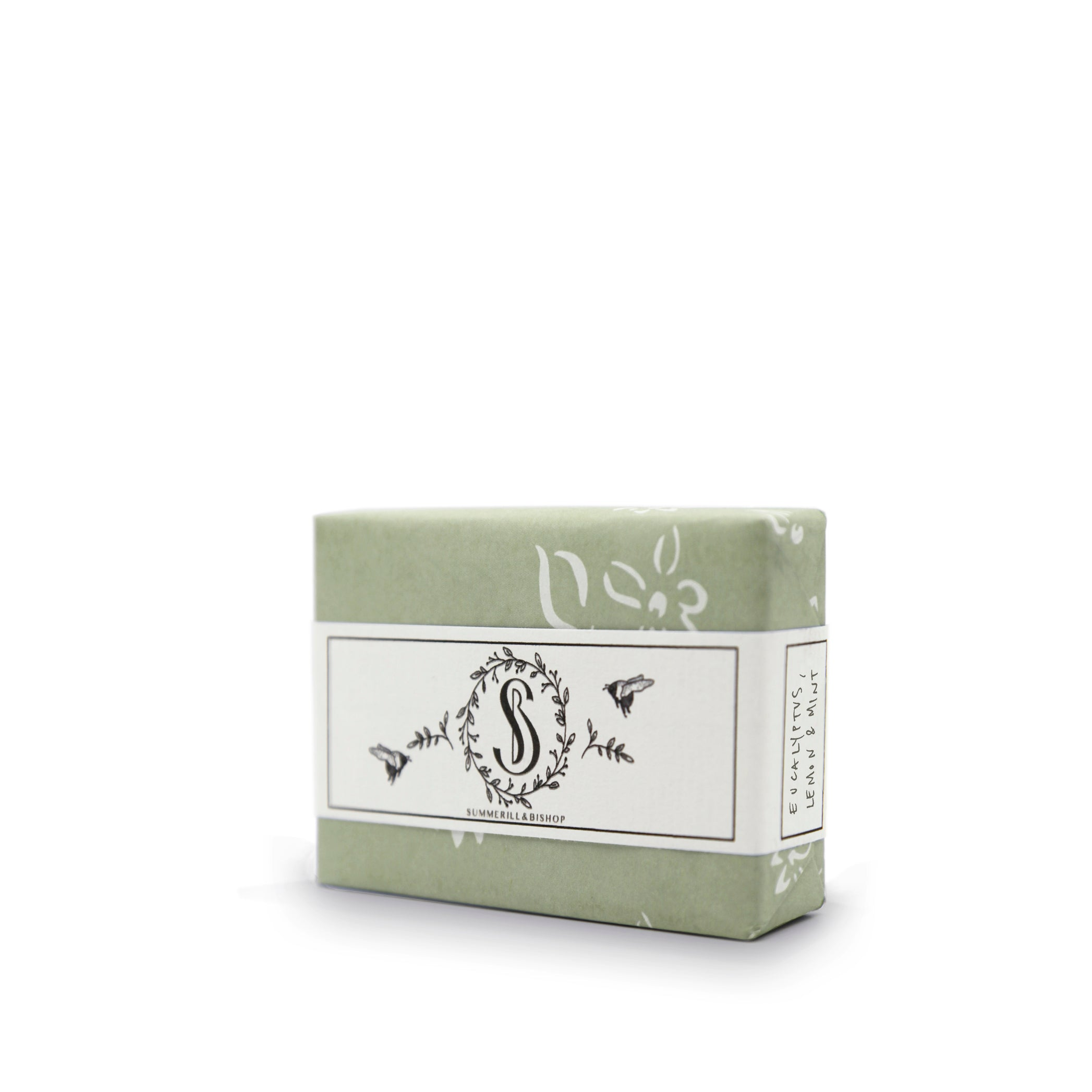 S&B Eucalyptus, Mint & Lemon Handmade Soap, 100g