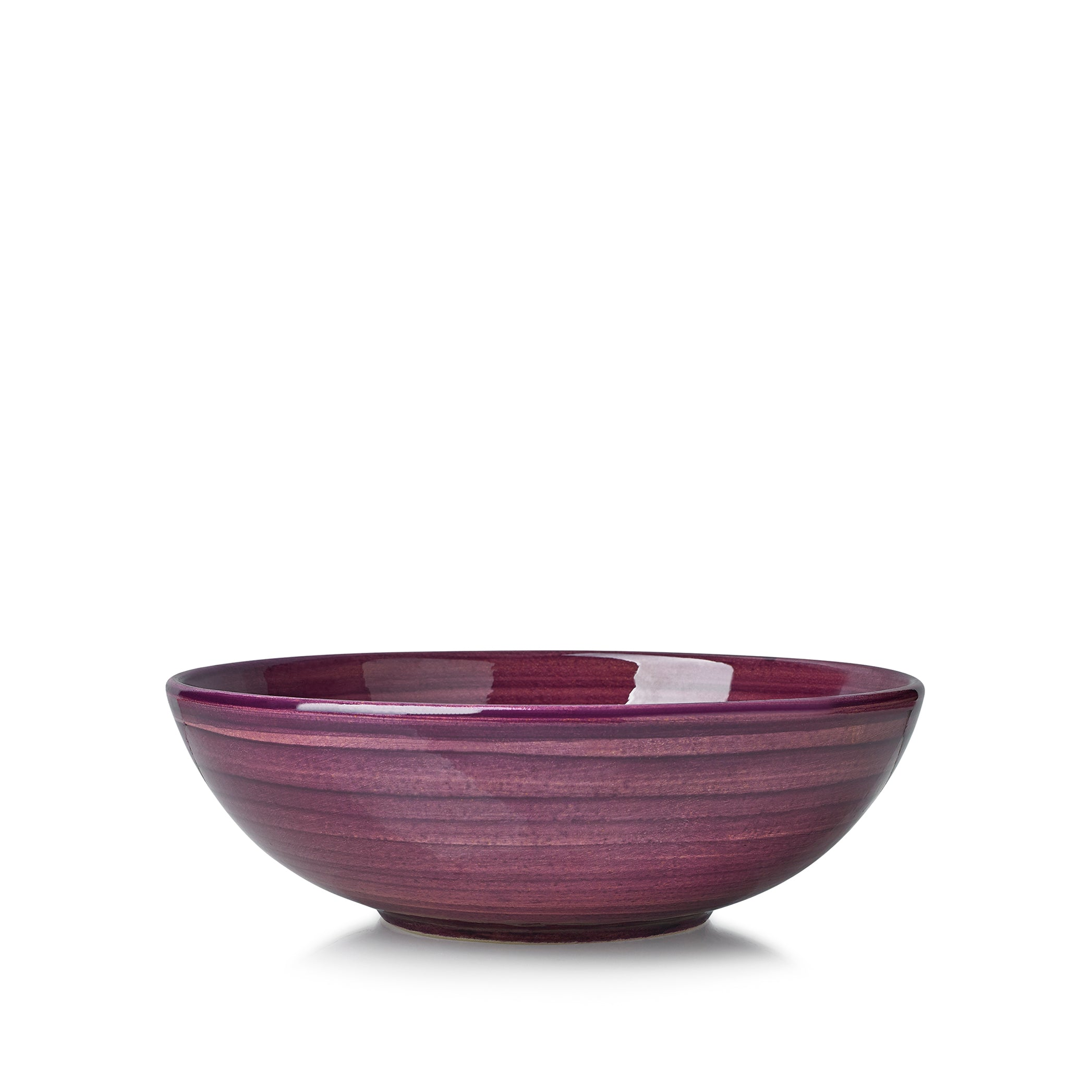 "S&B ""La Couronne"" 18.5cm Ceramic Soup Bowl in Purple"