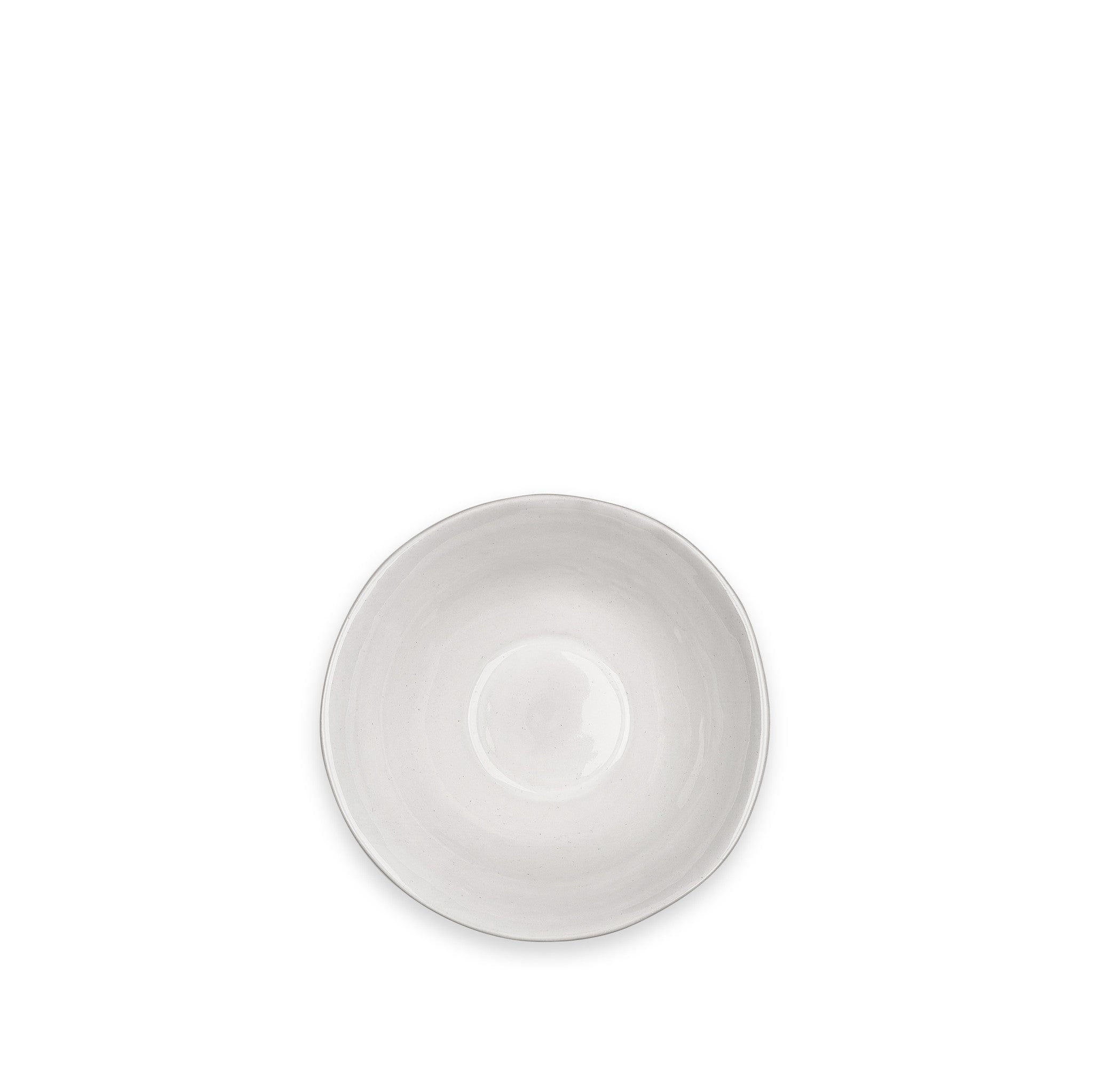 Wonki Ware Soup Bowl in White, 18cm