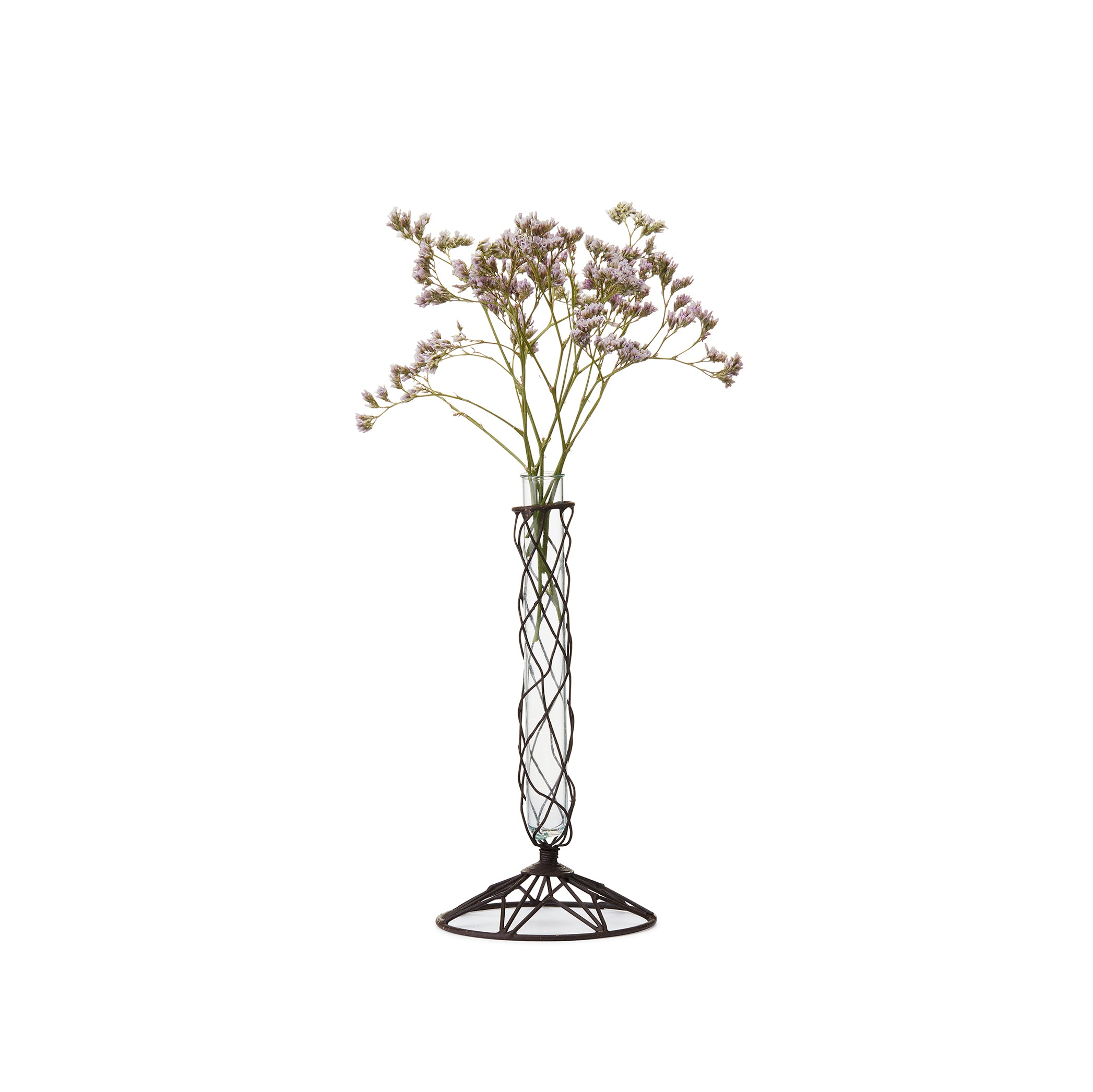 Wire Star Stem Vase