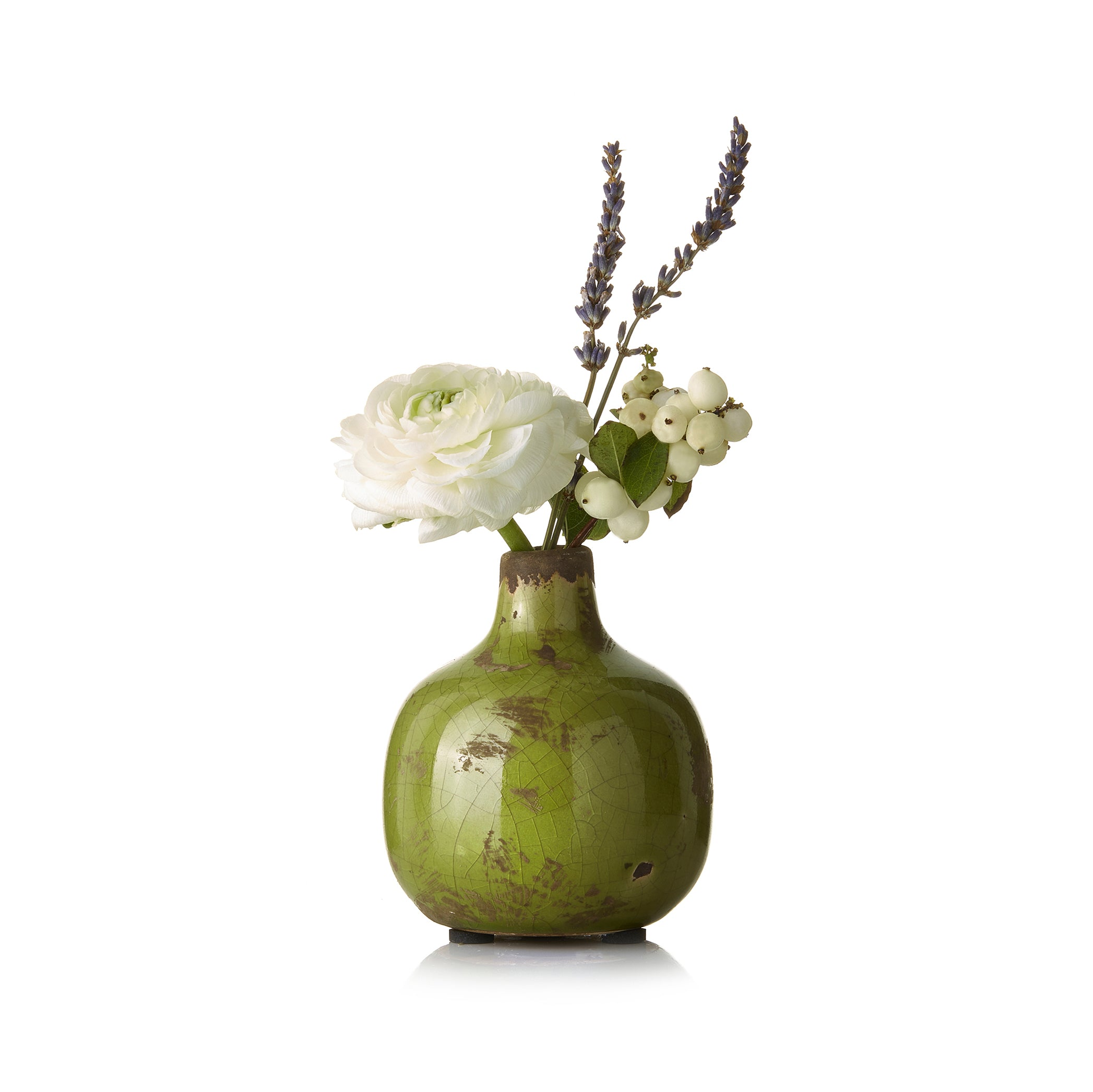 Ceramic Vase in Green