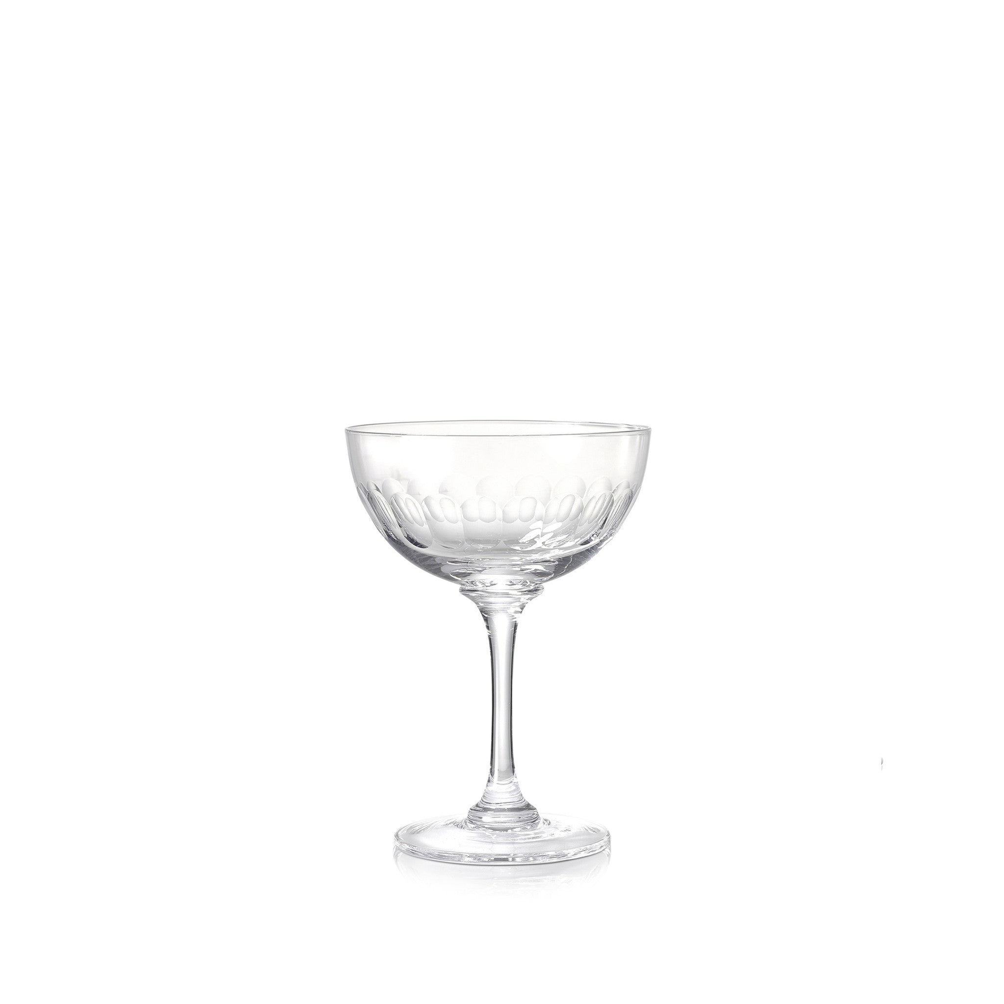 Vintage Style Champagne Coupe