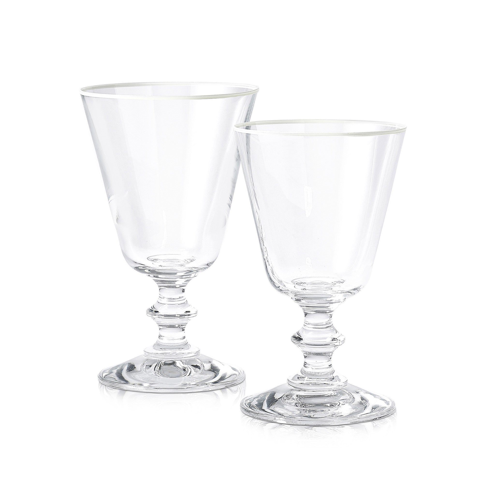 S&B Classic Red Wine Glass With White Rim, 24cl