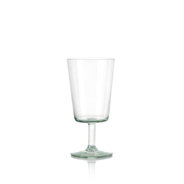 Handblown White Wine Glass from Kingdom of Swaziland