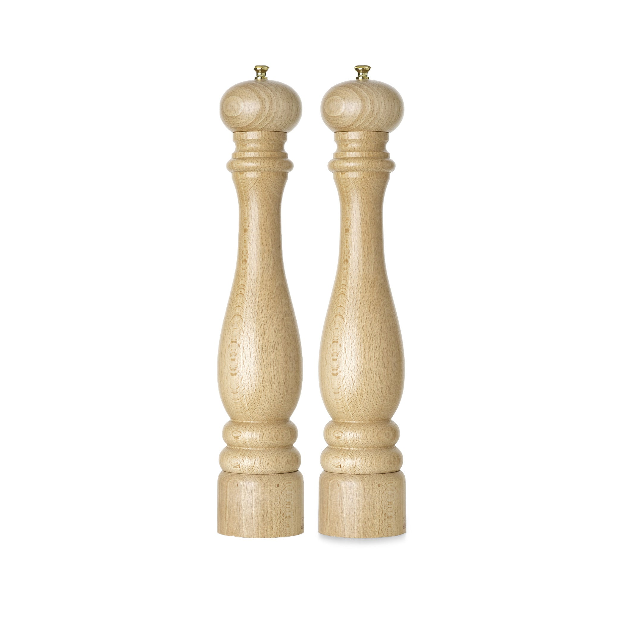 Peugeot Paris Natural Beechwood Pepper Mill, 40cm