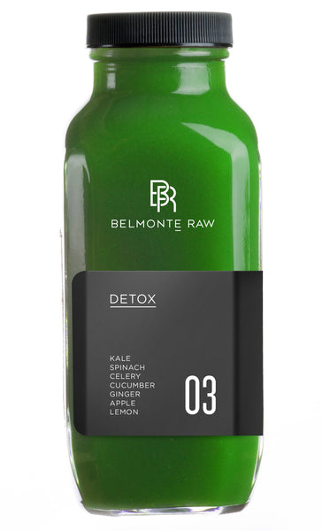 Detox 03 - Belmonte Raw - Organic Raw Food and Juicery