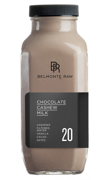 Chocolate Cashew Milk 20 - Belmonte Raw - Organic Raw Food and Juicery