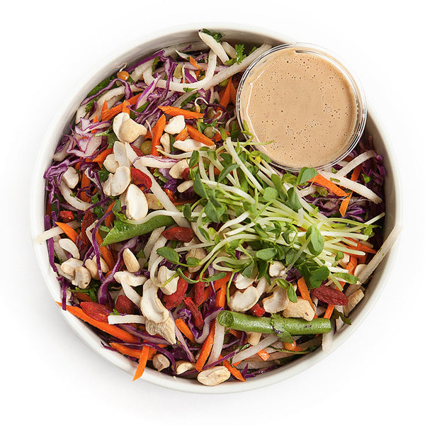 Asian Slaw | 17/04 - 23/04 - Belmonte Raw - Organic Raw Food and Juicery
