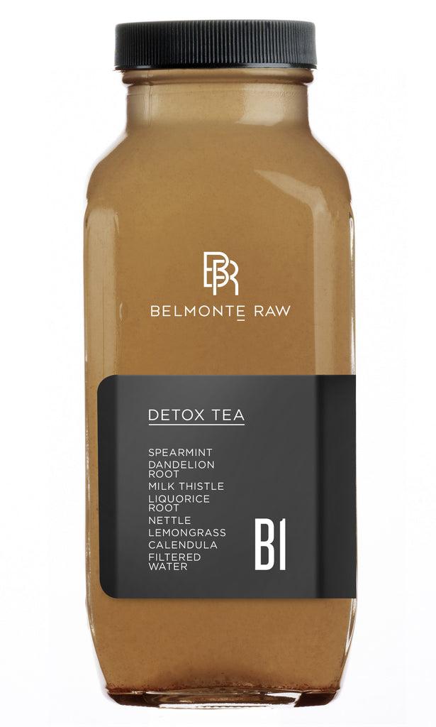 Detox Tea B1 - Belmonte Raw - Organic Raw Food and Juicery