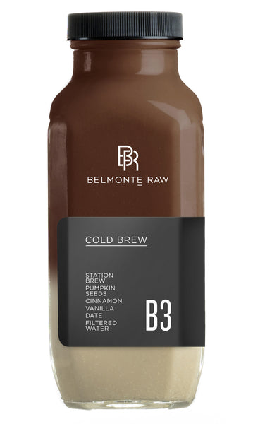 Cold Brew B3 - Belmonte Raw - Organic Raw Food and Juicery