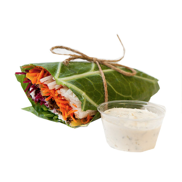 Burger Wrap | 09/01 - 15/01 - Belmonte Raw - Organic Raw Food and Juicery