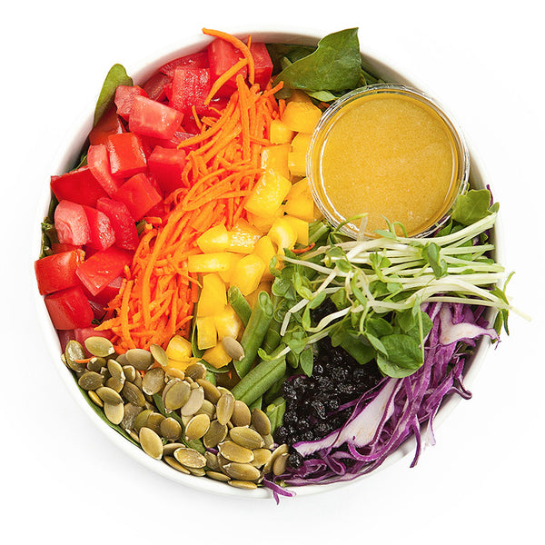 Chakra Salad | 17/04 - 23/04 - Belmonte Raw - Organic Raw Food and Juicery