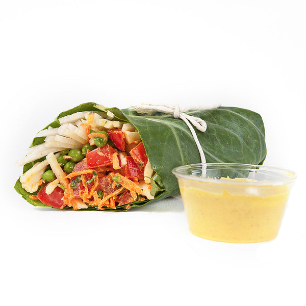 Madras Curry Wrap | 20/03 - 26/03 - Belmonte Raw - Organic Raw Food and Juicery
