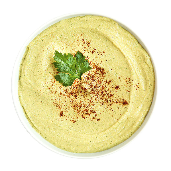 Zucchini Hummus - Belmonte Raw - Organic Raw Food and Juicery