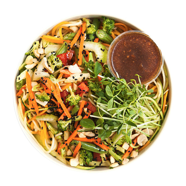 Veggie Lo Mein | 10/04 - 16/04 - Belmonte Raw - Organic Raw Food and Juicery