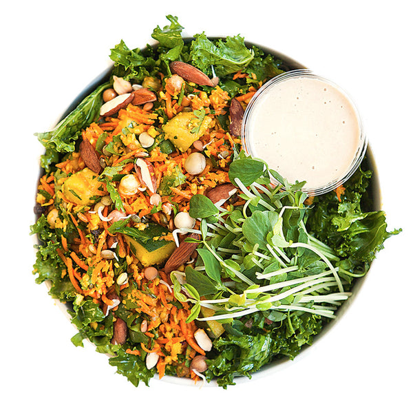 Moroccan Kale Salad | 03/04 - 09/04 - Belmonte Raw - Organic Raw Food and Juicery