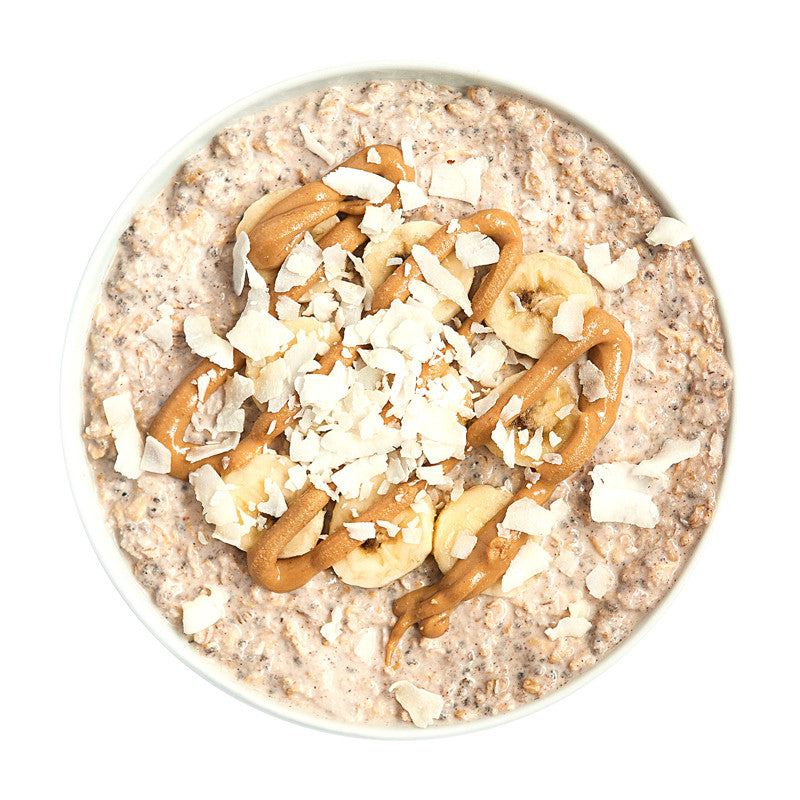 Over Night Oats Peanut Butter Banana - Belmonte Raw - Organic Raw Food and Juicery