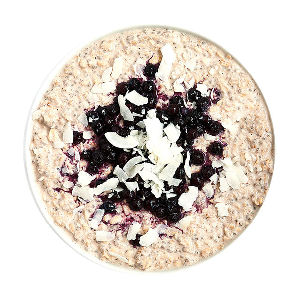 Over Night Oats Blueberry - Belmonte Raw - Organic Raw Food and Juicery