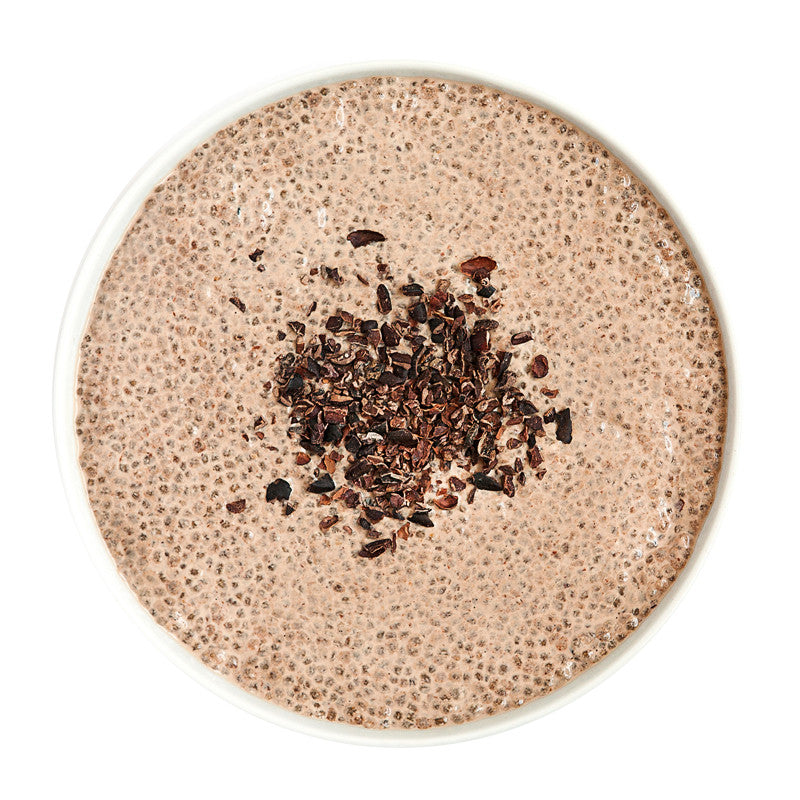 Chocolate Chia Pudding - Belmonte Raw - Organic Raw Food and Juicery