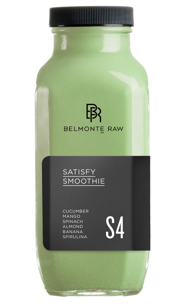 Satisfy Smoothie S4 - Belmonte Raw - Organic Raw Food and Juicery