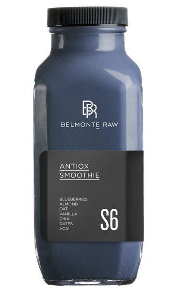Antiox Smoothie S6 - Belmonte Raw - Organic Raw Food and Juicery