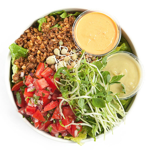 Taco Salad | 20/03 - 26/03 - Belmonte Raw - Organic Raw Food and Juicery