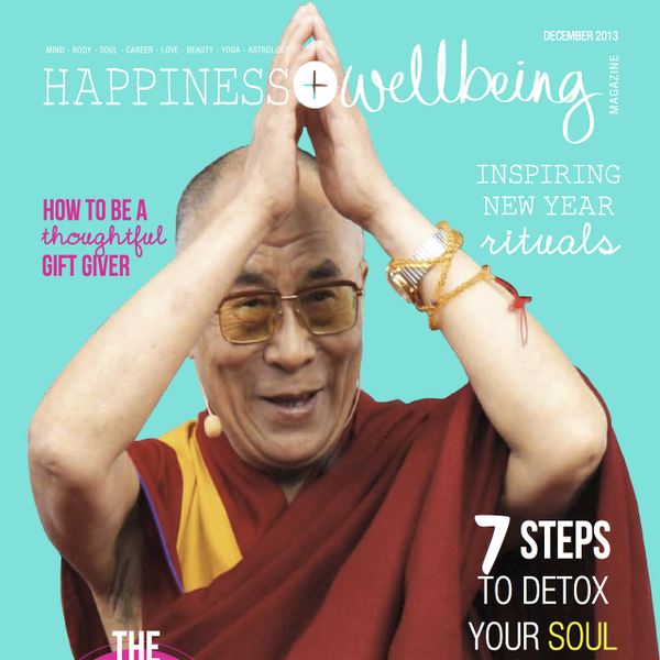 Happy Yoga by Maya Fiennes (Happiness+Wellbeing December 2013)