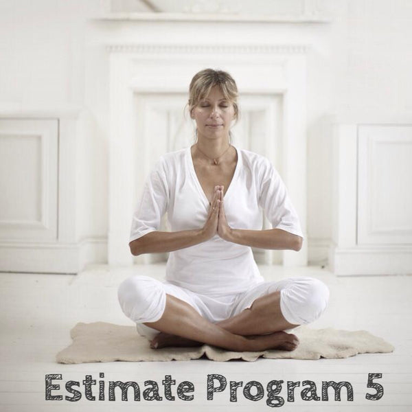 Estimate Program 5: Throat Chakra - Truth, Inner voice and the Authentic Self