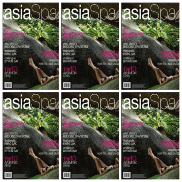 Maya Fiennes in Asia Spa March 2009