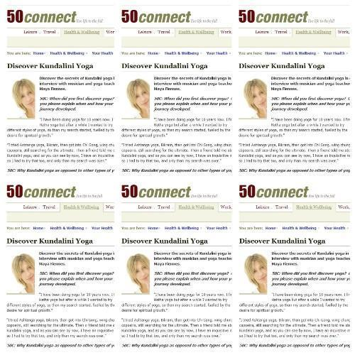 Maya Fiennes' Interview with 50 Connect