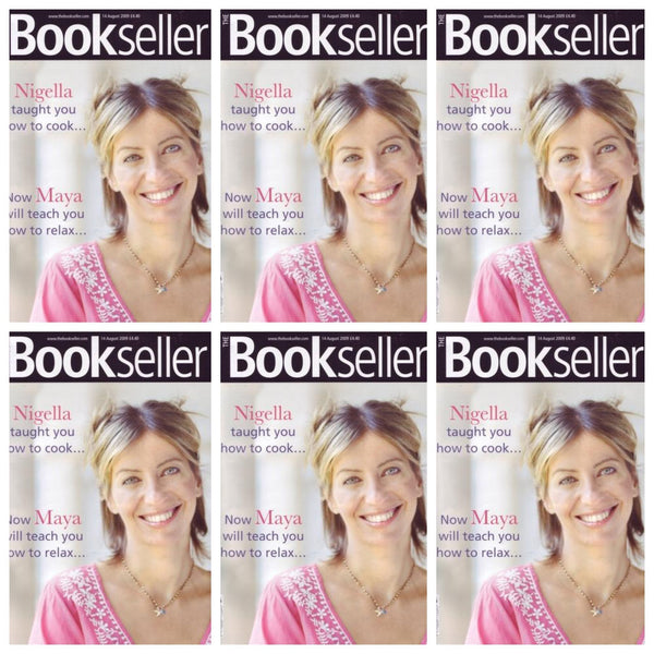 Maya Fiennes on the cover of Bookseller