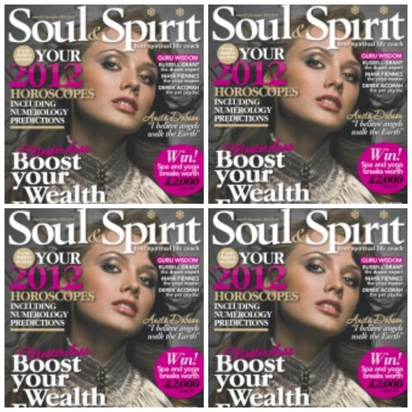 Maya Fiennes in Soul & Spirit, December 2011