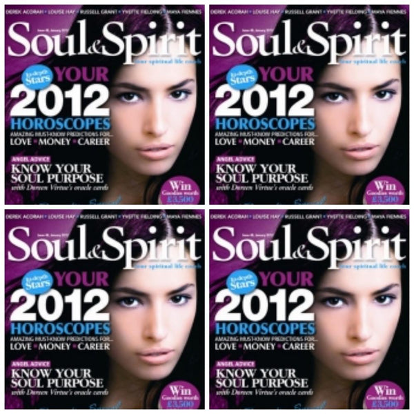 Maya Fiennes in Soul & Spirit Magazine, January 2012